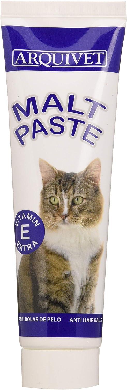Arquivet Pasta de Malta Gatos - 100 g: Amazon.es: Productos para mascotas