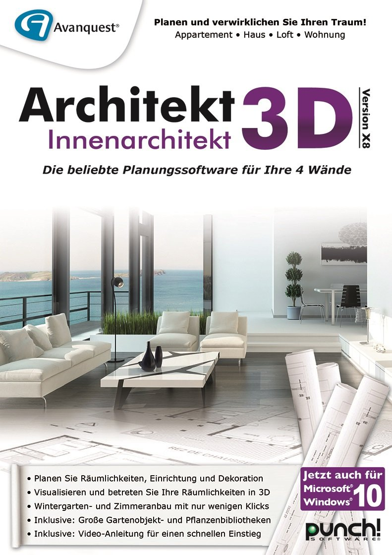 Architekt 3D X8 Innenarchitekt [PC Download]: Amazon.de: Software