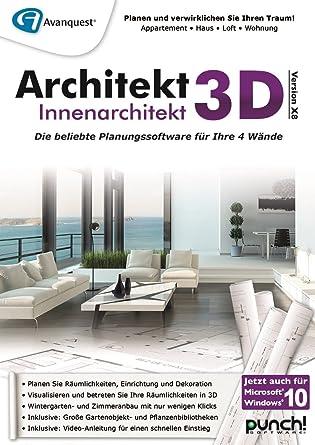 Architekt 3d X8 Innenarchitekt Pc Download Amazonde Software