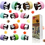 Kitchwise® Vegetable Cutters Shapes Set 12pcs, Mini Cookie Cutters, Fruit Shape Cutters for Kids