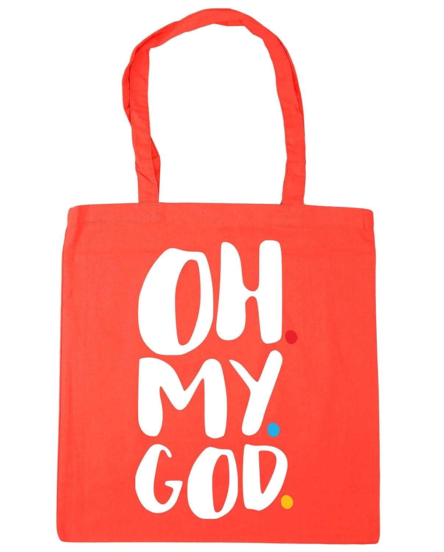 HippoWarehouse Oh my god Janice Tote Shopping Gym Beach Bag 42cm x38cm 10 litres