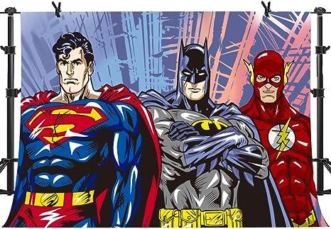 Mme 3 X 2 1 M Dessin Anime Superman Batman Photo Video Studio