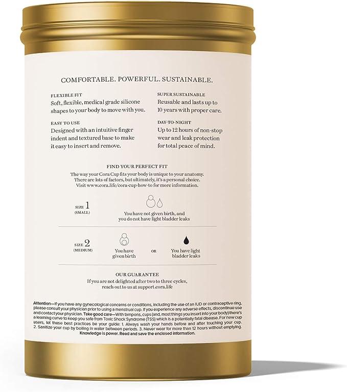 Cora copa menstrual, Talla: Amazon.es: Salud y cuidado personal