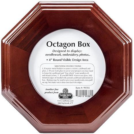 Amazon.com: Sudberry House Mahogany Octagon Box 6