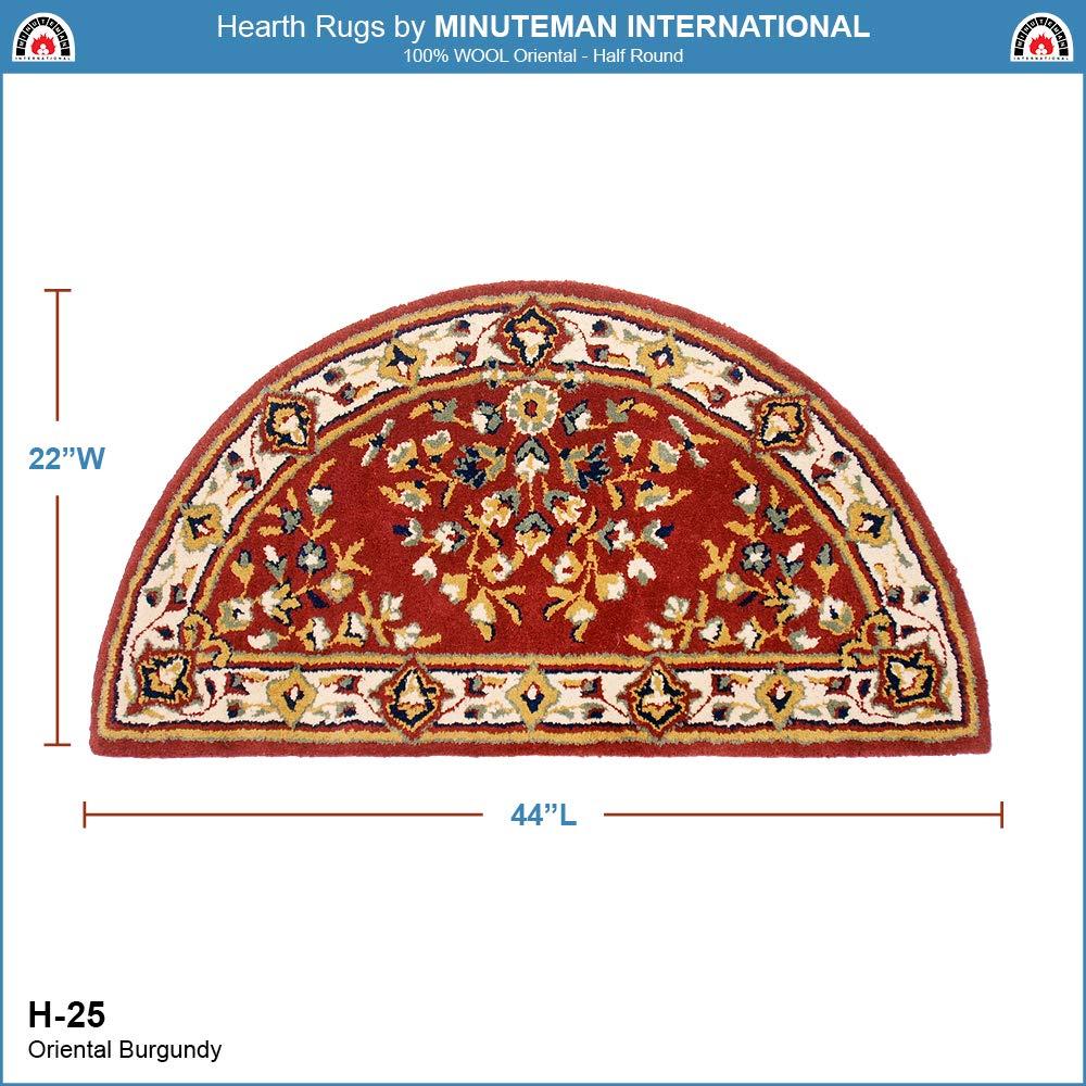 Amazon.com: Minuteman International Borgoña Oriental mitad ...