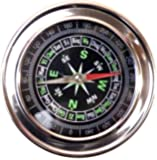 PRODUCTMINE®Big Compass Stainless Steel Directional Military Magnetic Compass (7.3 cm) for Feng Shui/Travel