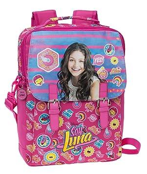 Disney Yo Soy Luna Mochila Escolar, 10.47 litros, Color Rosa: Amazon.es: Equipaje