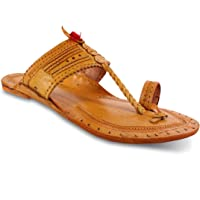 Unique Sports Men's Leather Kolhapuri Slippers