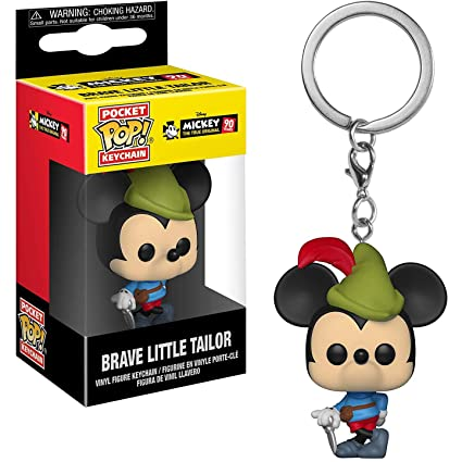 Amazon.com: Funko Brave Little Tailor Mickey Mouse: Mickeys ...