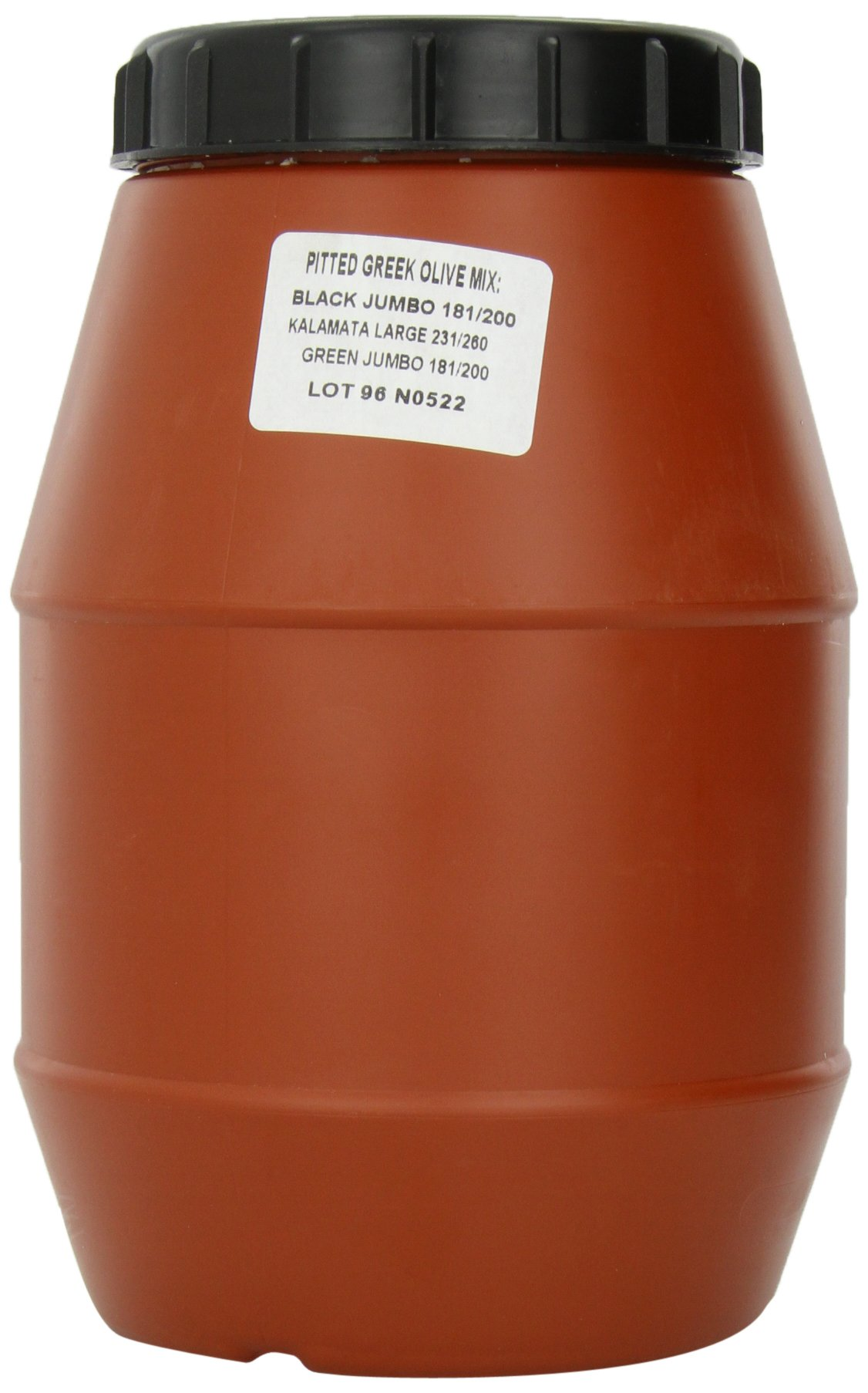 Roland Olives, Pitted Greek Country Mix, 70 Ounce