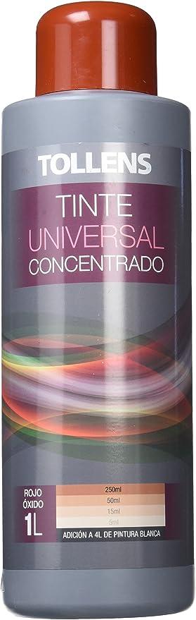 Tollens 8600 Tinte Universal, Rojo Oxido, 1 l: Amazon.es ...