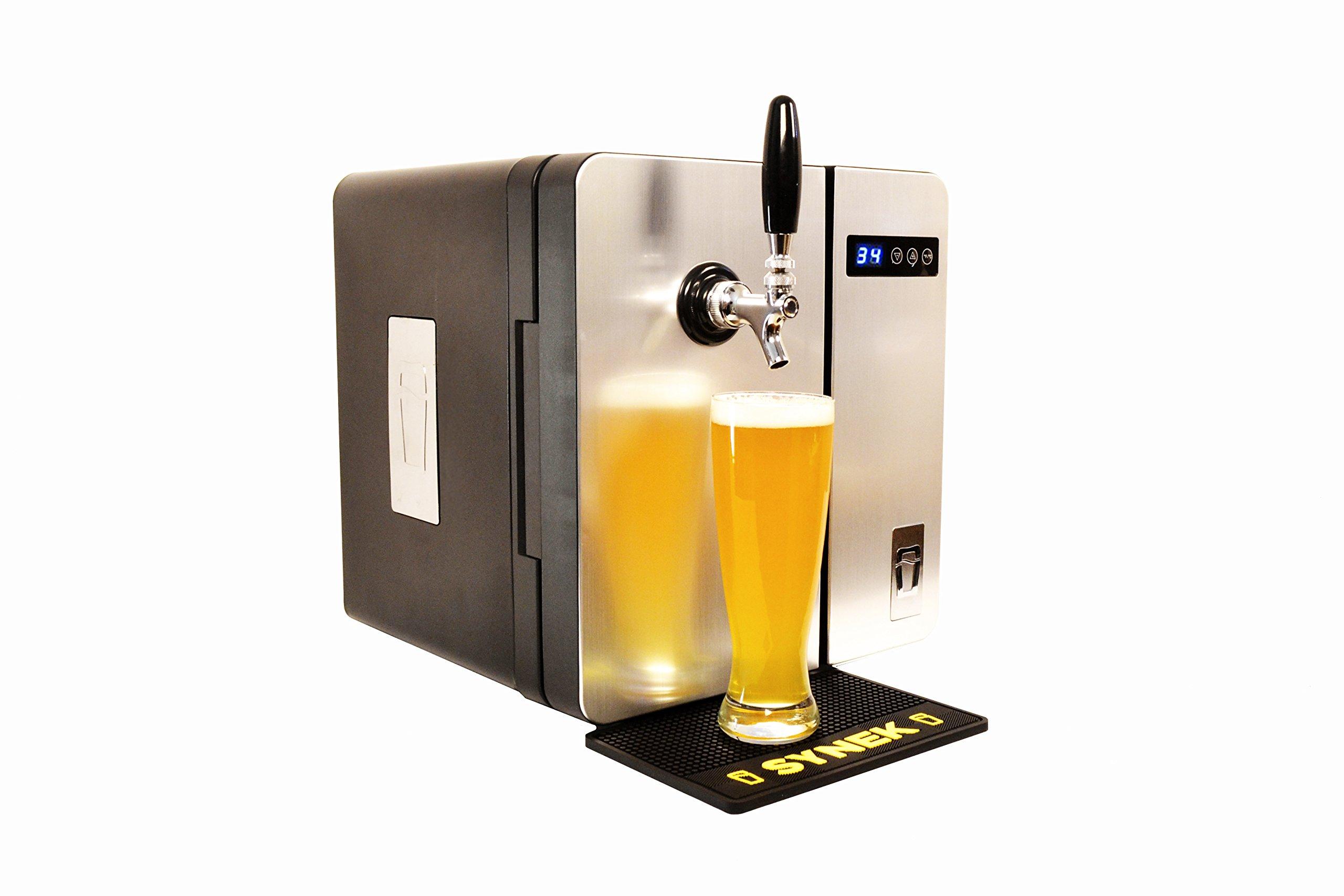 SYNEK Countertop Craft Beer Dispenser (Stainless Steel)