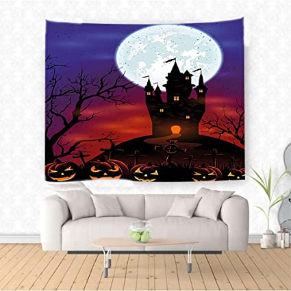 Amazon Com Nalahome Ween Decorations Gothic Haunted House Castle On