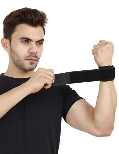 Never Lose Cotton Gym Wrist Support Wrap Band (1)