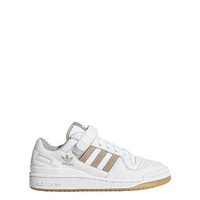 reputable site ba8e3 2198e adidas Womens Forum Lo W Fitness Shoes, White (FtwblaGrivapGum3 000
