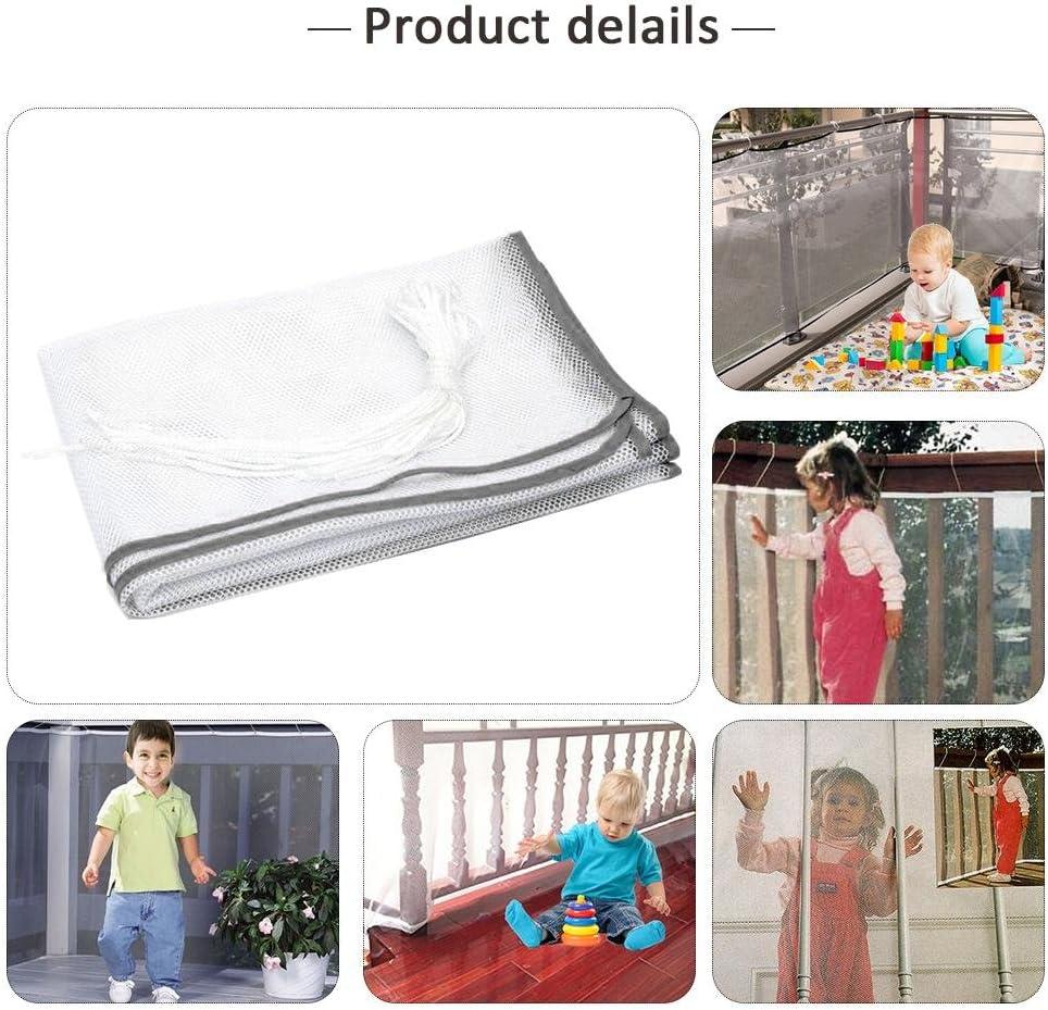 Kindlyperson Filet de s/écurit/é /épaissi pour Enfant Filet de Protection Filet d/écoratif Filet d/écoratif pour escaliers pour Enfants