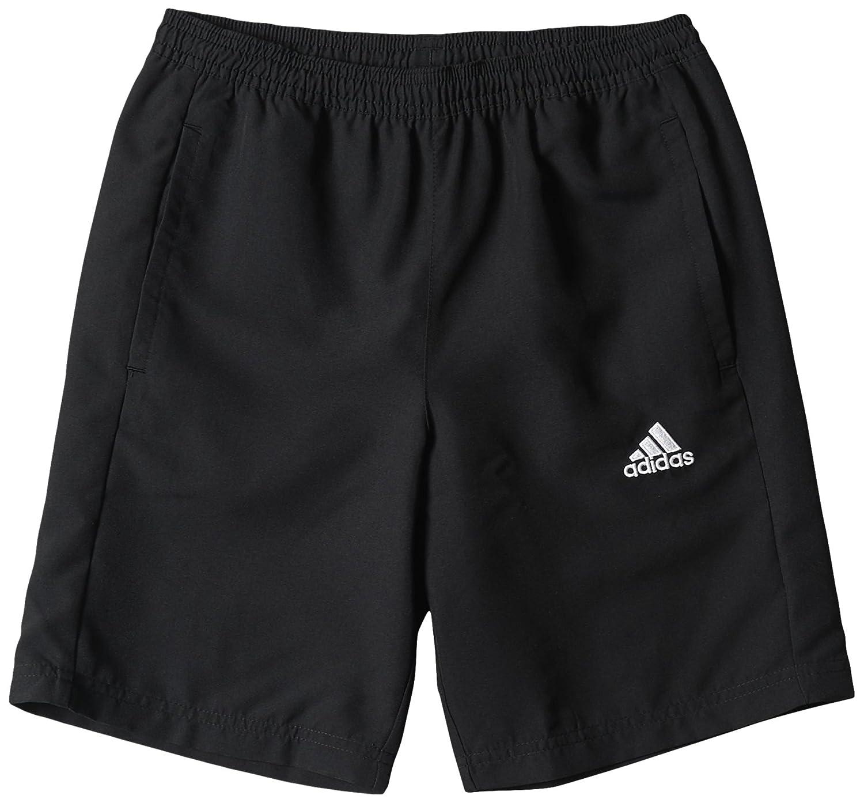 adidas Jungen Shorts Woven Y Schwarz/Weiß 140 M35337 COREF WOV SH Y