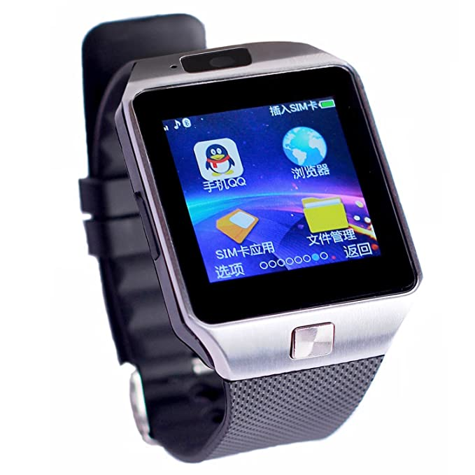Colofan C05 luxe Bluetooth montre Smart Watch Phone montre-bracelet avec ¨¦cran tactile pour IOS Android Smartphone Iphone Samsung Smartphone ...