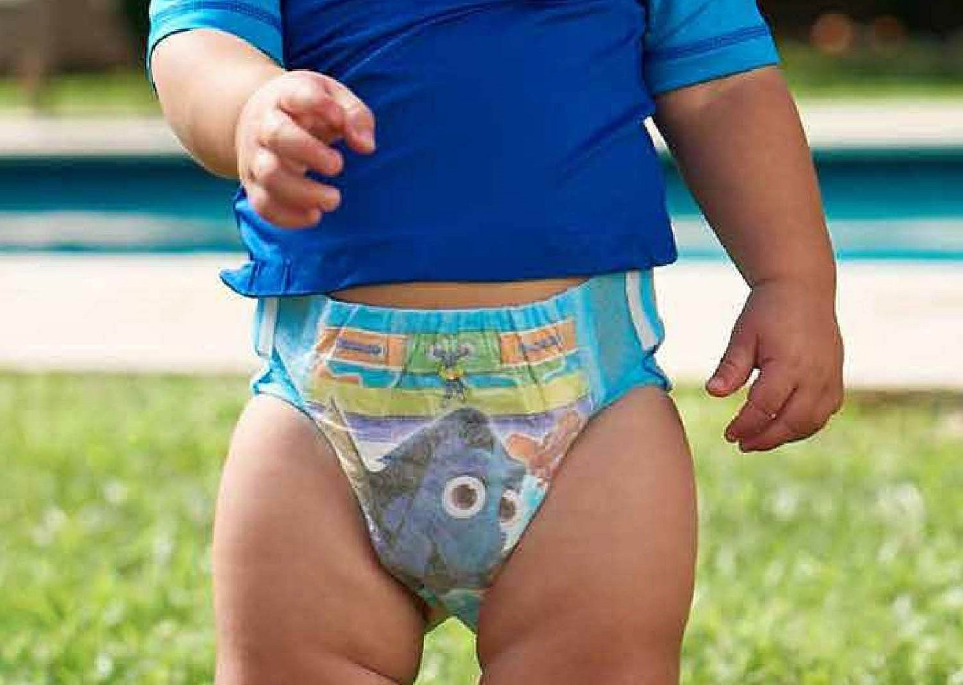 Huggies Little Swimmers Disposable Swimpants Large - Bonus 56 Wipes Included! by Huggies (Image #6)