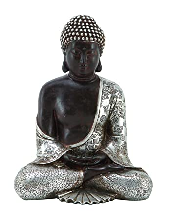 Home Decor   Statues And Sculptures   Big Beautiful Resting Polystone  Buddha 11