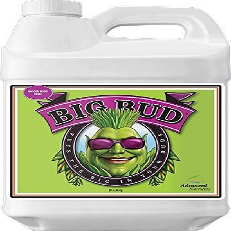Advanced Nutrients 5050-16 Big Bud Liquid Fertilizer, 10 Liter, Brown/A