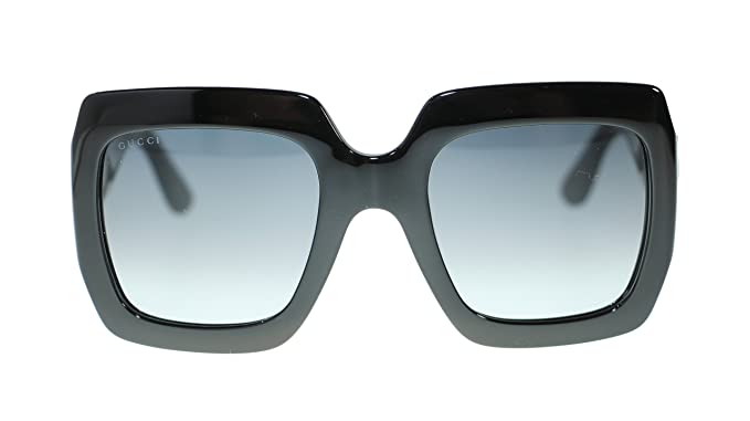 003e683a80c Image Unavailable. Image not available for. Colour  Gucci Women Square  Sunglasses GG0053S 001 ...