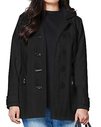 075976041c559 JD Williams Womens Duffle Coat  Amazon.co.uk  Clothing