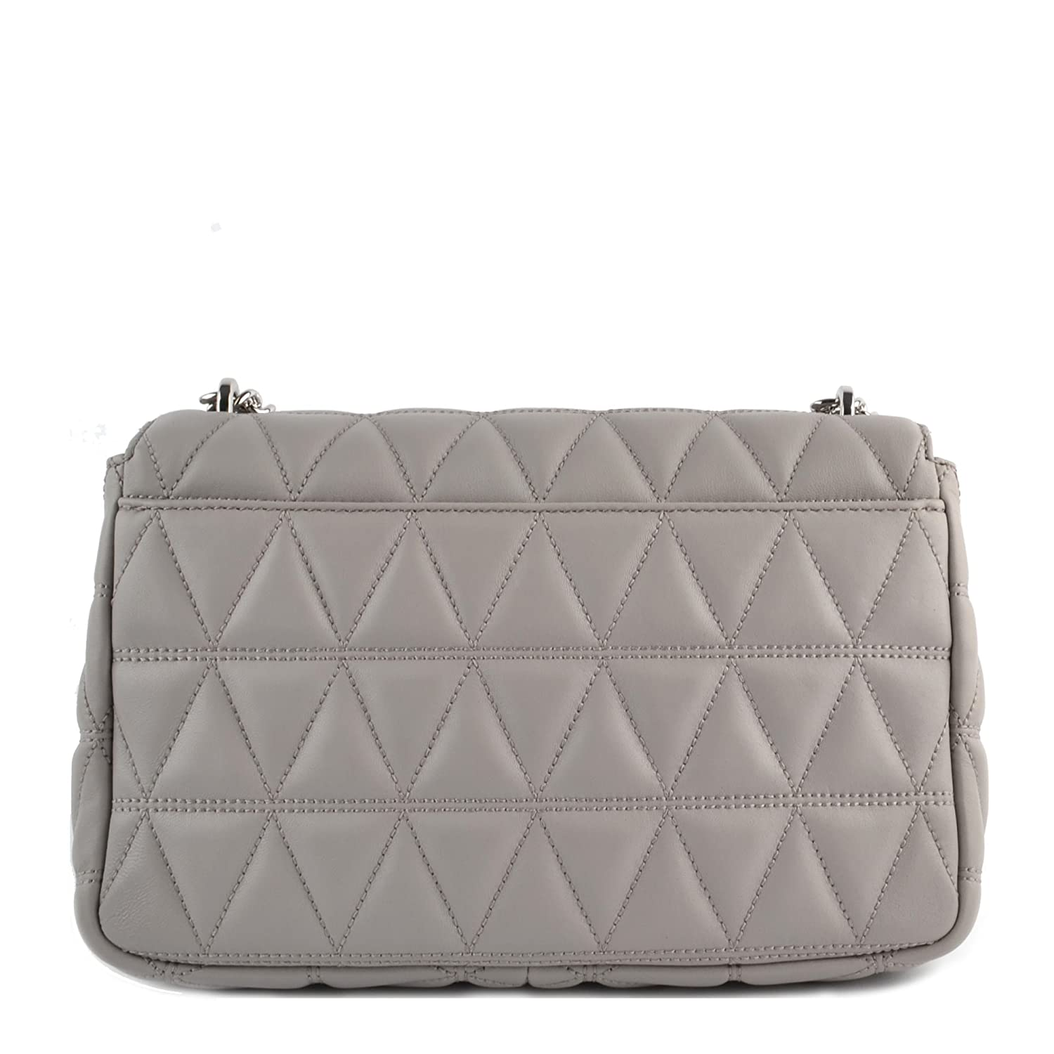 aaf6572e336a MICHAEL Michael Kors Sloan Large Quilted-Leather Shoulder Bag in Pearl  Grey: Handbags: Amazon.com