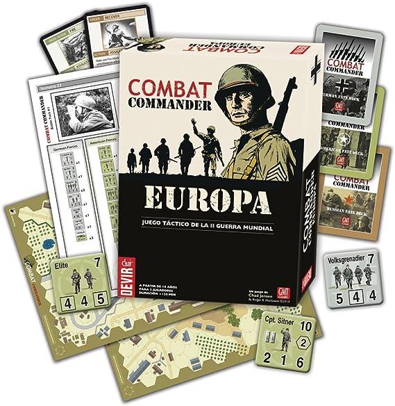 Devir - Combat Commander: Europe, Juego de Mesa en Castellano (221923): Amazon.es: Juguetes y juegos