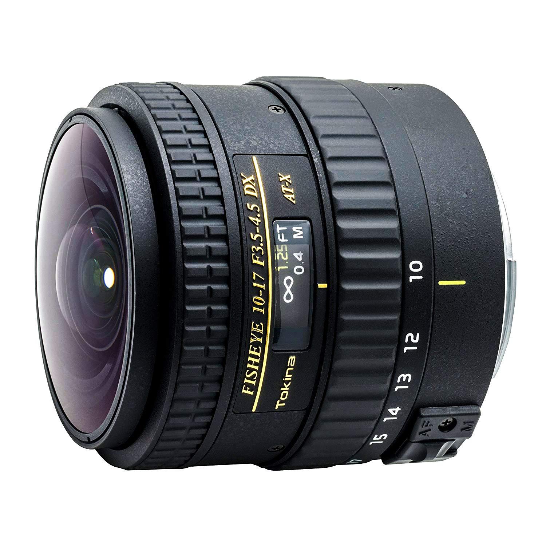 Tokina 魚眼ズームレンズ AT-X 107 AF DX NH Fisheye 10-17mm F3.5-4.5 (IF) キヤノン用 フルサイズ対応 フードなしタイプ キヤノン用  B006KY5I0W