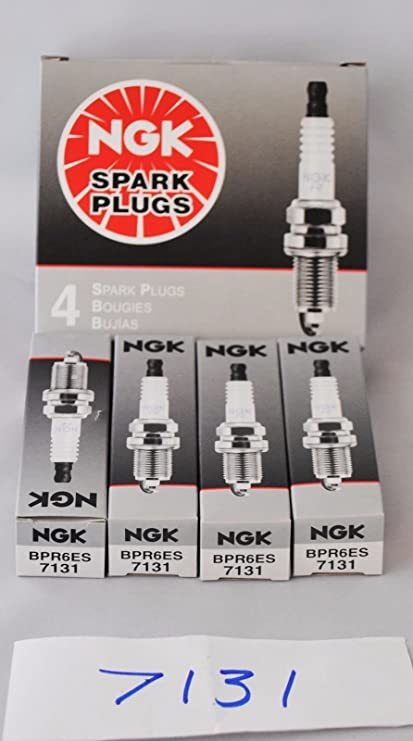 Amazon.com: 4 Pack Genuine Oem Ngk Copper Spark Plugs Bpr6es # 7131 Made In Japan: Automotive