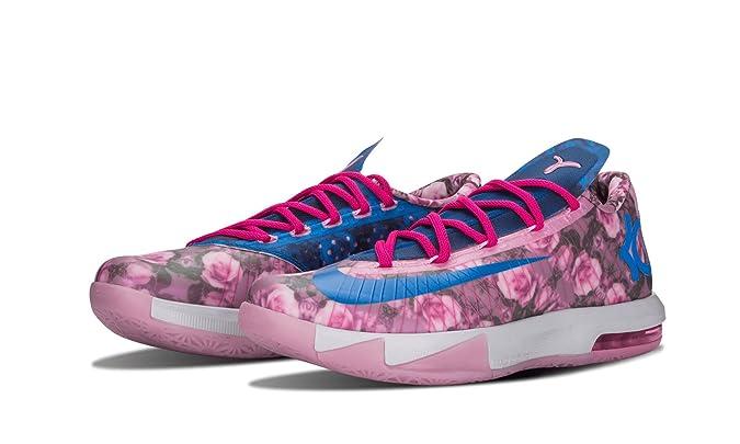 new arrivals 93baf 8267e Amazon.com   Nike Mens KD VI Supreme Aunt Pearl Synthetic Basketball Shoes    Basketball