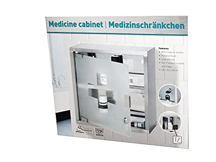 Amazon Medicine Cabinet Stainless Steel With Glass Door