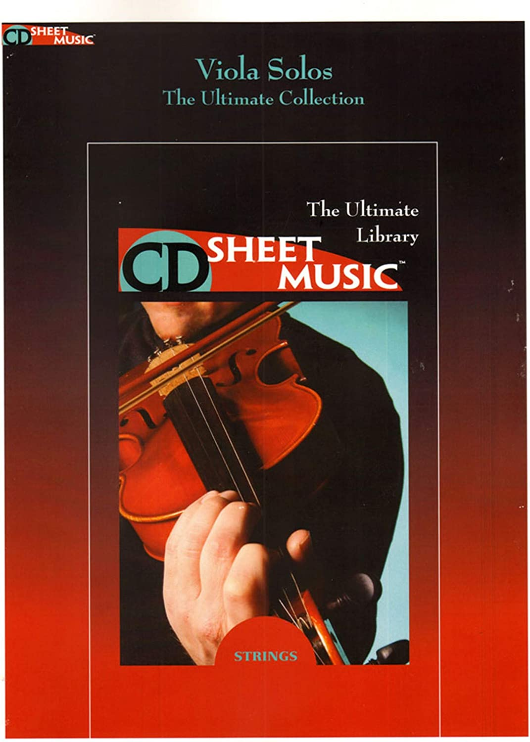 The Ultimate CD Sheet Music Library, Viola Solos, The Ultimate Collection