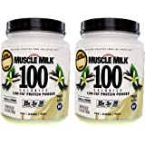CytoSport Muscle Milk 100 Calories 2-pack Vanilla 1.65 lb (750g)