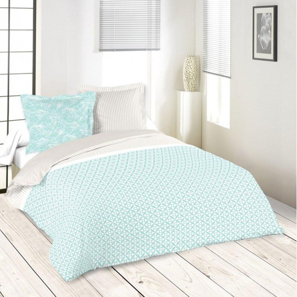 Tessili Per La Casa Lovely Casa Hp38353001 Copripiumino Matrimoniale Cotone Blu 220 X 240 Cm Casa E Cucina Visonic In