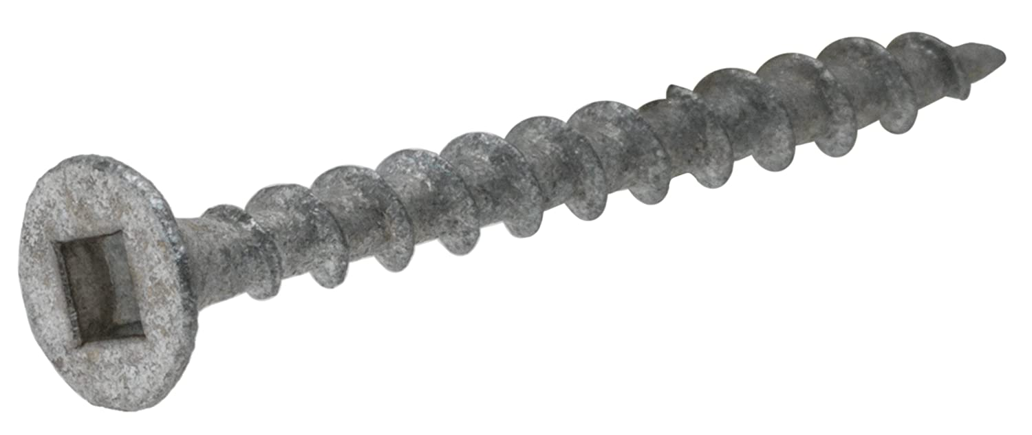 325 Pack Hillman 47746 Galvanized Square Drive Deck Screw 6 X 1-Inch