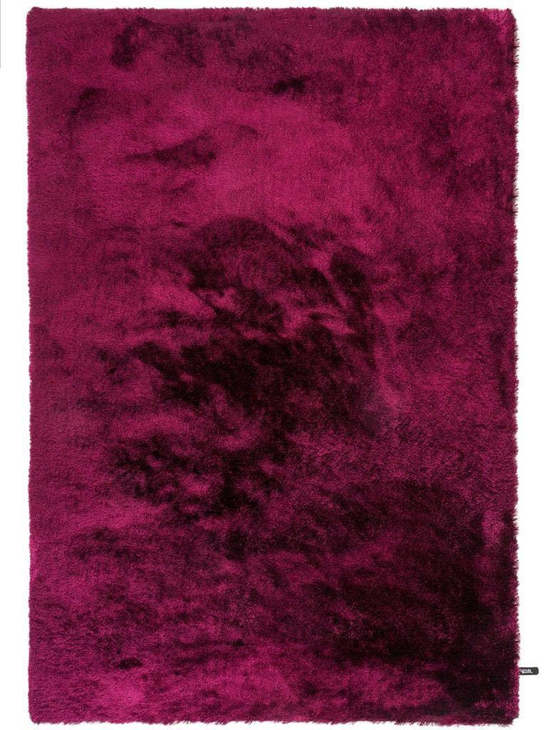 Benuta Shaggy Hochflor Teppich Whisper Lila 80x150 cm   Langflor Teppich für Schlafzimmer und Wohnzimmer