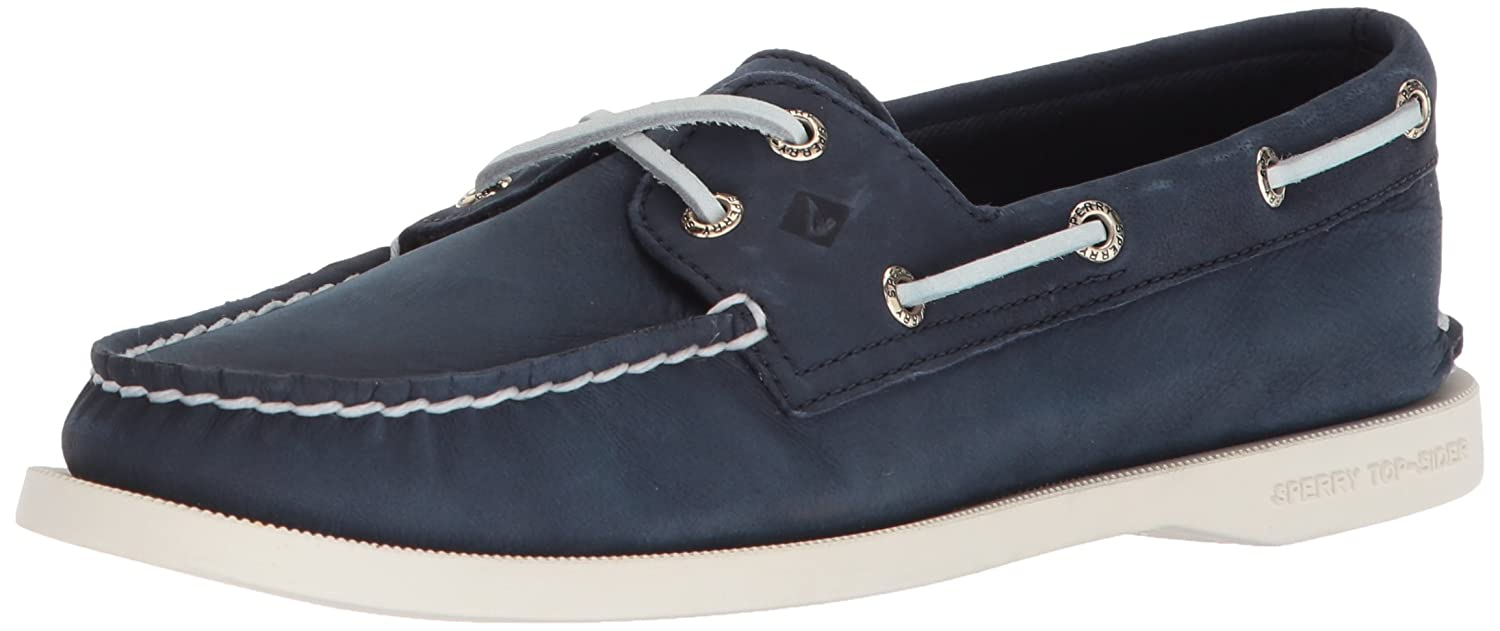 Navy Sperry Womens A O 2-Eye Boat shoes