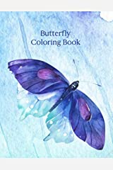 Butterfly Coloring Book: Grayscale Coloring Paperback