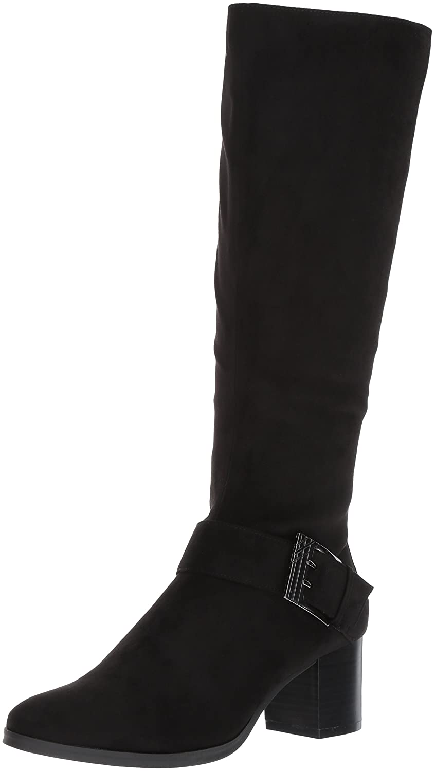 Aerosoles Women's Chatroom Knee High Boot B073FZFSVM 6 B(M) US|Black Fabric