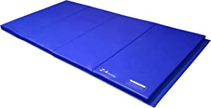 Z Athletic 4ft x 8ft x 2in Folding Mat Gymnastics, Tumbling in Multiple Colors