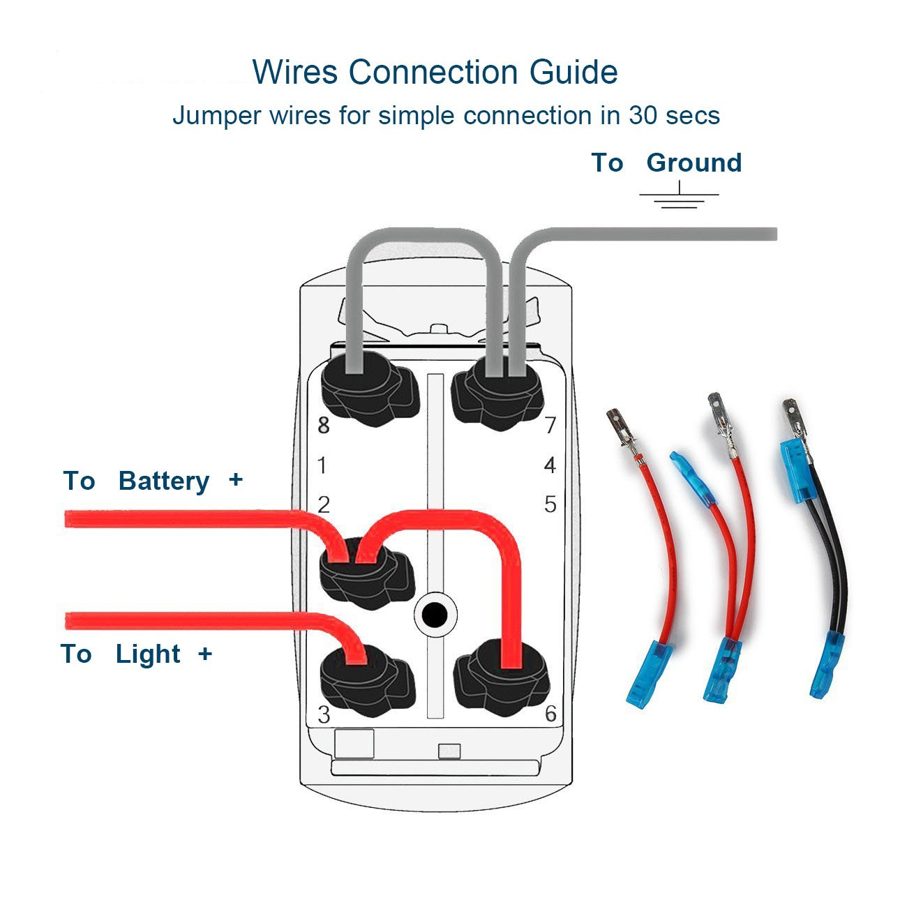 Amazon.com: Xislet LED Light Bar Rocker Switches for UTV Polaris Ranger RZR  800-1000 XP Turbo Can Am Commander 800 Maverick X3 Rear Lights Rocker Switch,  ...