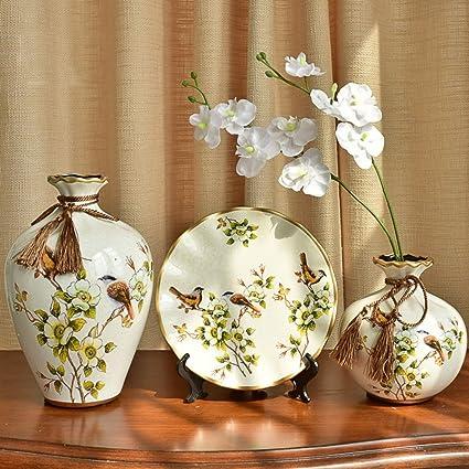 Amazon Se7ven American Rustic Ceramic Vase Ornaments European