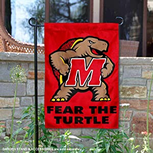 College Flags and Banners Co. Maryland Terrapins Garden Flag