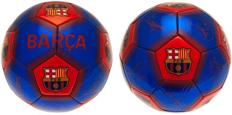 Balón de fútbol oficial del FC Barcelona (La Liga), tamaño 5: Amazon.es: Deportes y aire libre