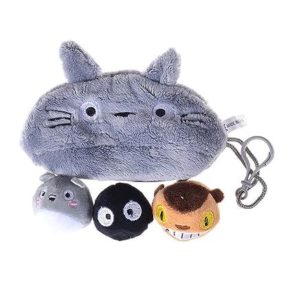 Lychee Anime Totoro estuche bolsa de la Lápiz Bolsa ...