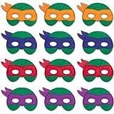 Ninja Turtle Masks Felt Masks Ninja Turtles Party Supplies Super Hero Cosplay Birthday Favors