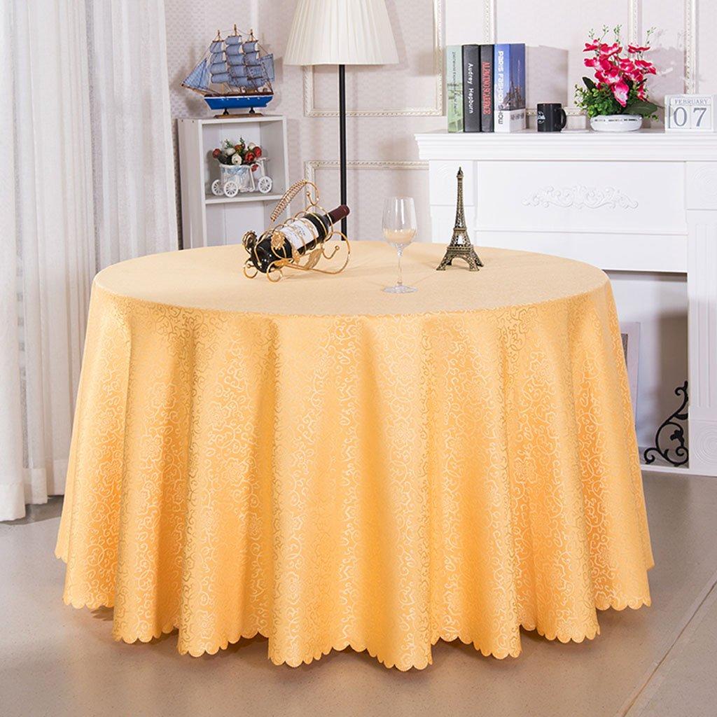 Unbekannt %Tablecloth Runde Tischdecken - Küche, Esszimmer, Garten, Balkon oder Camping Tischdecke - faltenfrei, leicht zu reinigen 30-65 (Farbe   B, größe   Round-240cm) B07G4ZHYKB Tischdecken Niedriger Preis und gute Qualität | Sehr gelo