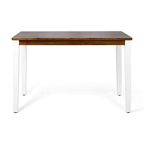 Amazon.com: Spring Farmhouse - Mesa de bar de madera de ...